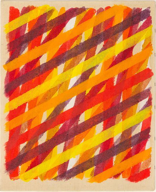 Ex tempore II by Piero Dorazio contemporary artwork