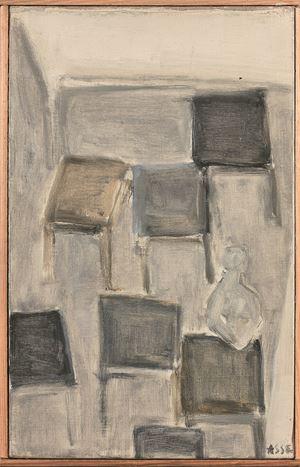 """Atelier"" by Geneviève Asse contemporary artwork"