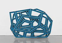 New Alphabet DEF by Richard Deacon contemporary artwork works on paper, sculpture