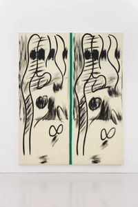 Untitled by Bernard Piffaretti contemporary artwork print