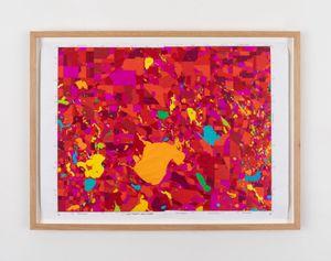 Road Trip 7 by Kathy Prendergast contemporary artwork