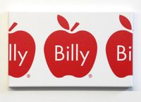 Billy Apple Frieze (Red) by Billy Apple contemporary artwork painting