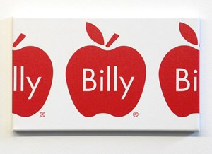 Billy Apple Frieze (Red) by Billy Apple contemporary artwork