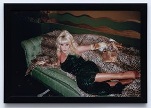 Lady Bunny by Linda Simpson contemporary artwork