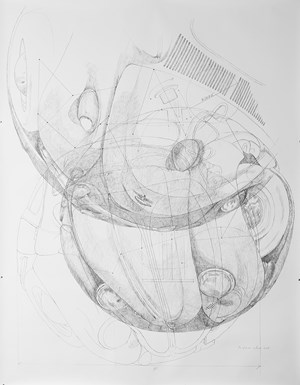 Beetle Sphere - Study 1 by Ichwan Noor contemporary artwork
