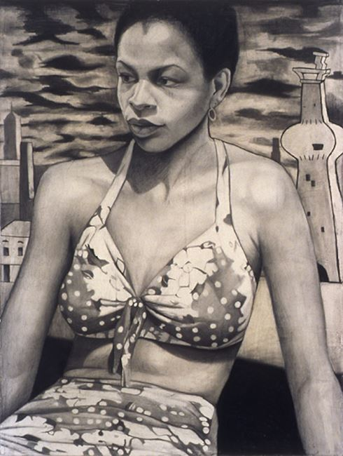 Polka Dot Bikini by Jenny Scobel contemporary artwork