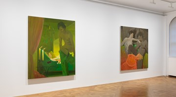 Contemporary art exhibition, Lisa Yuskavage, New Paintings at David Zwirner, 69th Street, New York