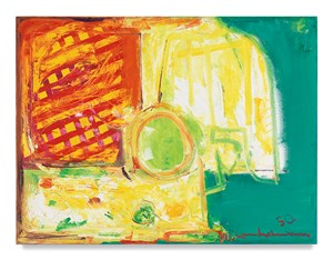 The Pumpkin by Hans Hofmann contemporary artwork