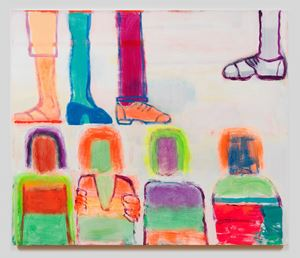 New Shoes by Katherine Bradford contemporary artwork