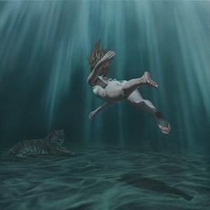 Depths of a Memory by Joel Rea contemporary artwork