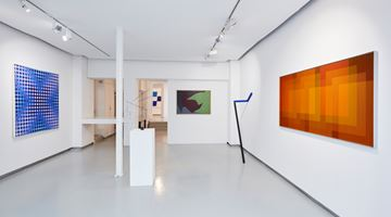 Contemporary art exhibition, Group Exhibition, Colorful! at galerie Denise René, Espace Marais, Paris