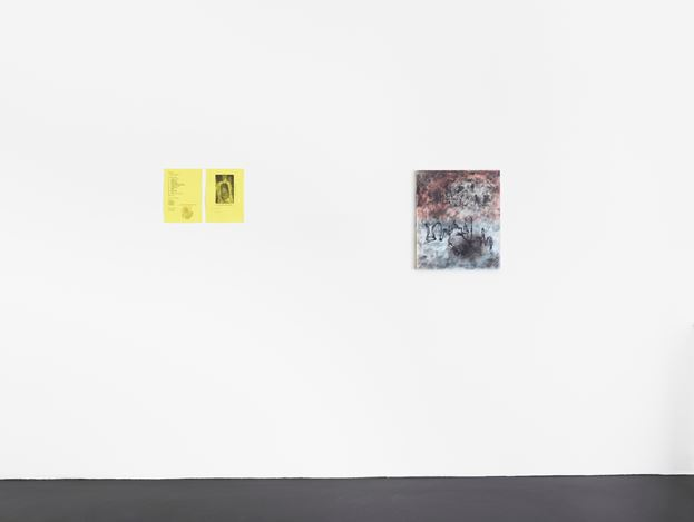 Exhibition view: Henrik Olesen, ab 22. Mai 2020, Galerie Buchholz, Cologne (22 May–15 August).  Courtesy Galerie Buchholz Berlin/Cologne/New York.