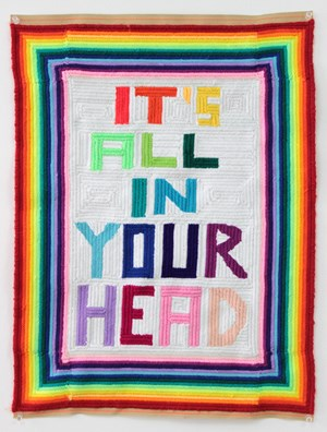Untitled (It's All In Your Head) by Paul Yore contemporary artwork