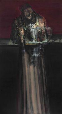 The Dress (Alchemist) by Nikos Aslanidis contemporary artwork painting