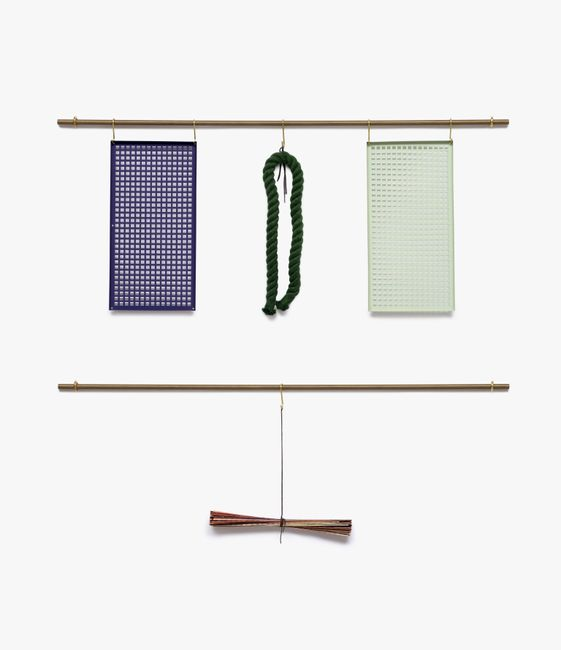 Note - rope, mat, square #19-03 by Suki Seokyeong Kang contemporary artwork
