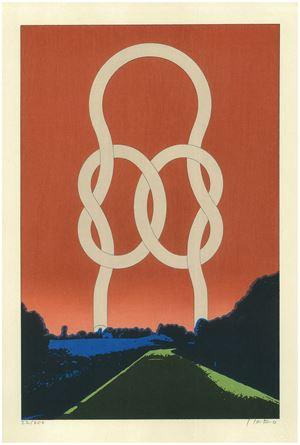 Road by Ikko Tanaka contemporary artwork