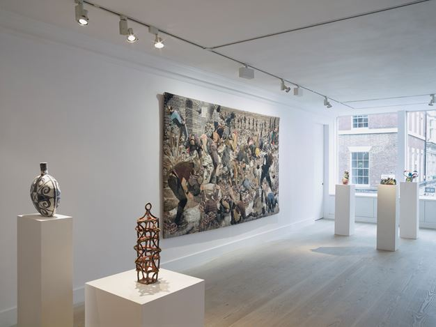 Group Exhibition, I Cyborg,2016, Exhibition view at Gazelli Art House, London. Courtesy the Artists and Gazelli Art House: Peter Mallet. © the Artists.
