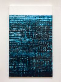 Fade and Float by Katsumi Hayakawa contemporary artwork painting, works on paper