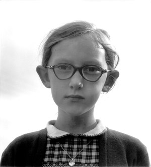 A Young Girl in Ennis, Clare County, Ireland by Dorothea Lange contemporary artwork
