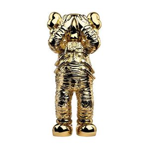 """Holiday: Space 11.5"""" (Gold). 20th anniversary edition by KAWS contemporary artwork"""