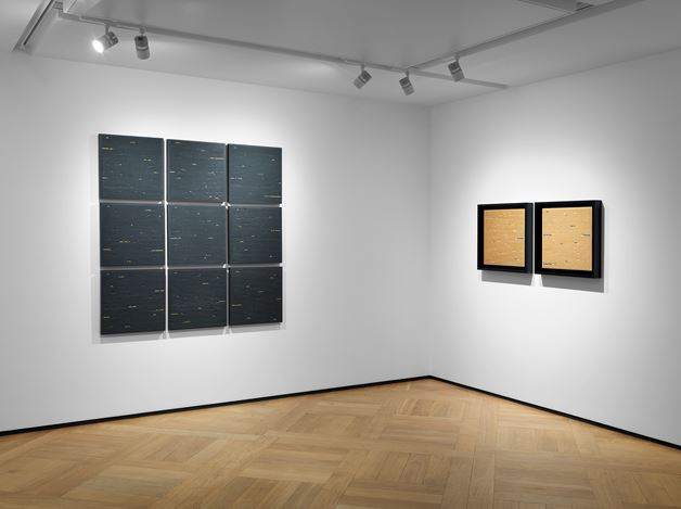 Exhibition view: Gianfranco Zappettini, The Golden Age, Mazzoleni, London (7 February–11 April 2020). Courtesy Mazzoleni London-Torino.