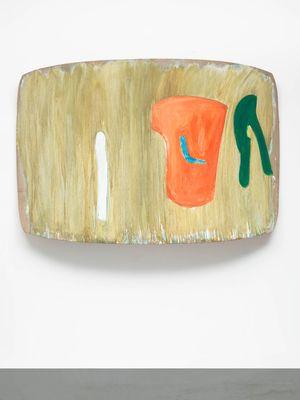PROGRESS by Ron Gorchov contemporary artwork