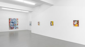 Contemporary art exhibition, Nigel Cooke, Spring in Fialta at Buchmann Galerie, Berlin