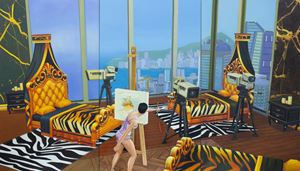 Home Sweet Home: Referencing 1,2,3,4,5 Cheese 3 by Mak Ying Tung 2 contemporary artwork