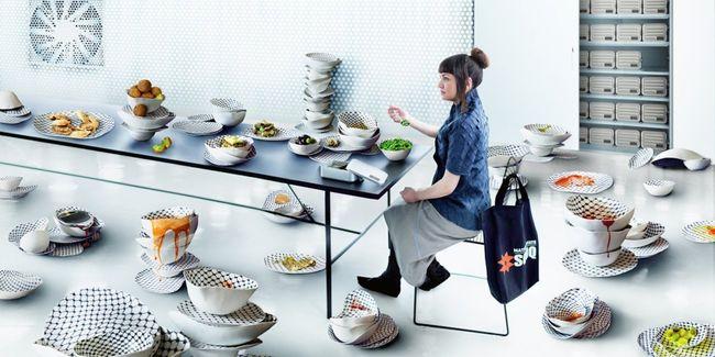 Food by Larissa Sansour contemporary artwork