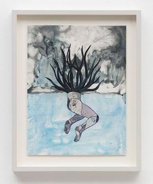 luz en lo oscuro (study) by Felipe Baeza contemporary artwork