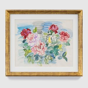 Bed of Roses by raoul dufy contemporary artwork