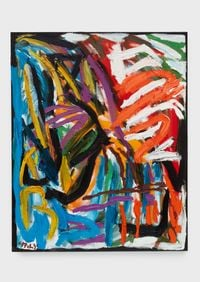 Out of Nature (Spring, Sprout, Bloom) by Karel Appel contemporary artwork painting