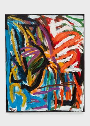 Out of Nature (Spring, Sprout, Bloom) by Karel Appel contemporary artwork