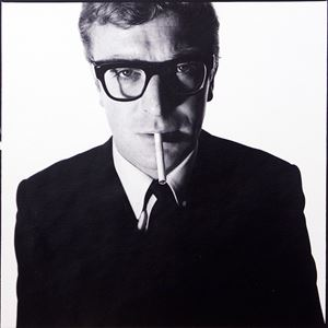 Michael Caine by David Bailey contemporary artwork