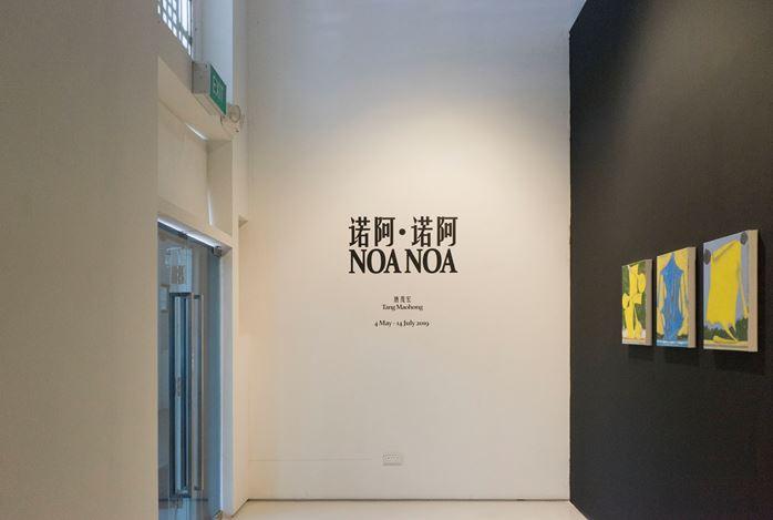 Exhibition view:Tang Maohong, Noa Noa 诺阿·诺阿, ShanghART, Singapore (4 May–14 July 2019). CourtesyShanghART.