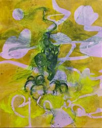 mingling with scorpions by Rebekka Steiger contemporary artwork painting, works on paper, drawing