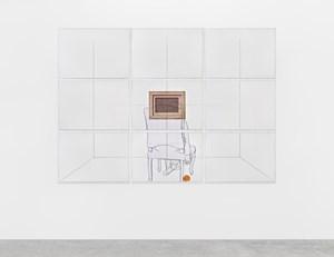 Retroscena (Una rosa amarilla) by Giulio Paolini contemporary artwork