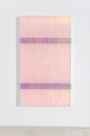 colormirror rainbow double bars violet toronto by Regine Schumann contemporary artwork