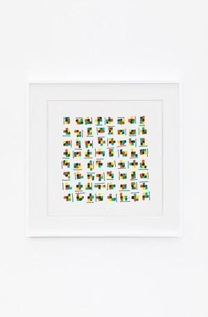 Gruppi di forme e colori in movimento (1) by Bruno Munari contemporary artwork