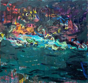 Waterside by Michael Taylor contemporary artwork