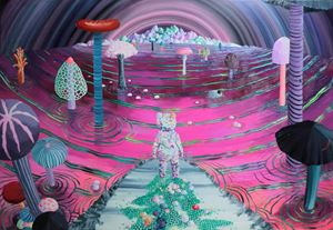 Beyond the Thought by Eguchi Ayane contemporary artwork