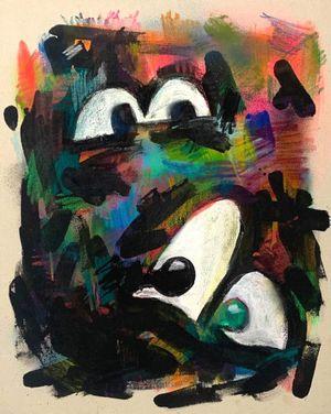 One's Eyes no.1 by Kinjo Toshiki contemporary artwork
