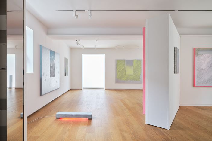 Exhibition view: Min ha Park, Peculiar Weather, Whistle, Seoul (12 June–18 July 2020). Courtesy Whistle. Photo: Kyoungtae Kim