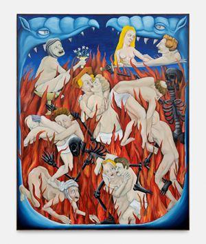 Inferno by Tom Poelmans contemporary artwork