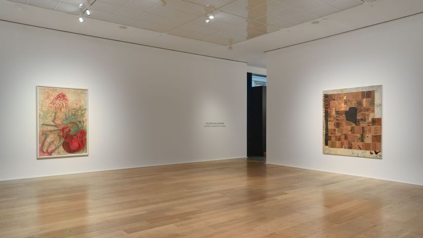 Exhibition view: Ellen Gallagher, Ecstatic Draught of Fishes, Hauser & Wirth, London (21 May–31 July 2021). Courtesy the artist and Hauser & Wirth.Photo: Alex Delfanne.