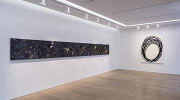 Contemporary art exhibition, Lee Bae, The Sublime Charcoal Light at Perrotin, Tokyo