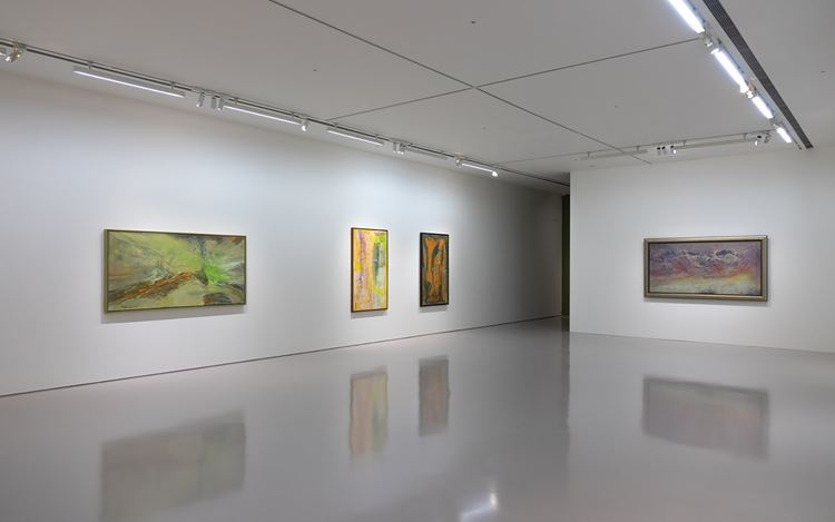 Exhibition view: Tommy Chen, A Trailblazer in Abstract Art, Eslite Gallery, Taipei (25 December 2020–23 January 2021). Courtesy Eslite Gallery.