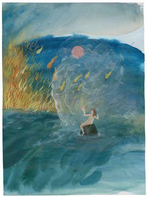 Io et Jupiter by Karine Rougier contemporary artwork