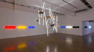 Contemporary art exhibition, Bill Culbert, Time Tables at Roslyn Oxley9 Gallery, Sydney, Australia