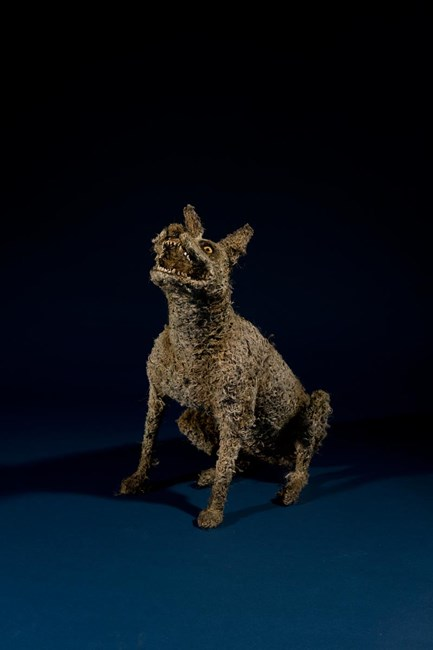 Little Mongrel by Sue Ryan contemporary artwork